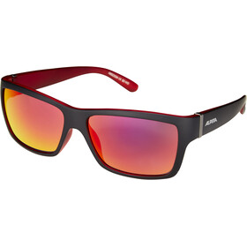 Alpina Kacey Lunettes, black matt-red